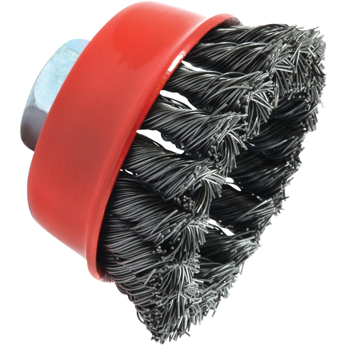 "2-3/4"" KNOTTED CUP BRUSH - 72757 by Forney Industries"
