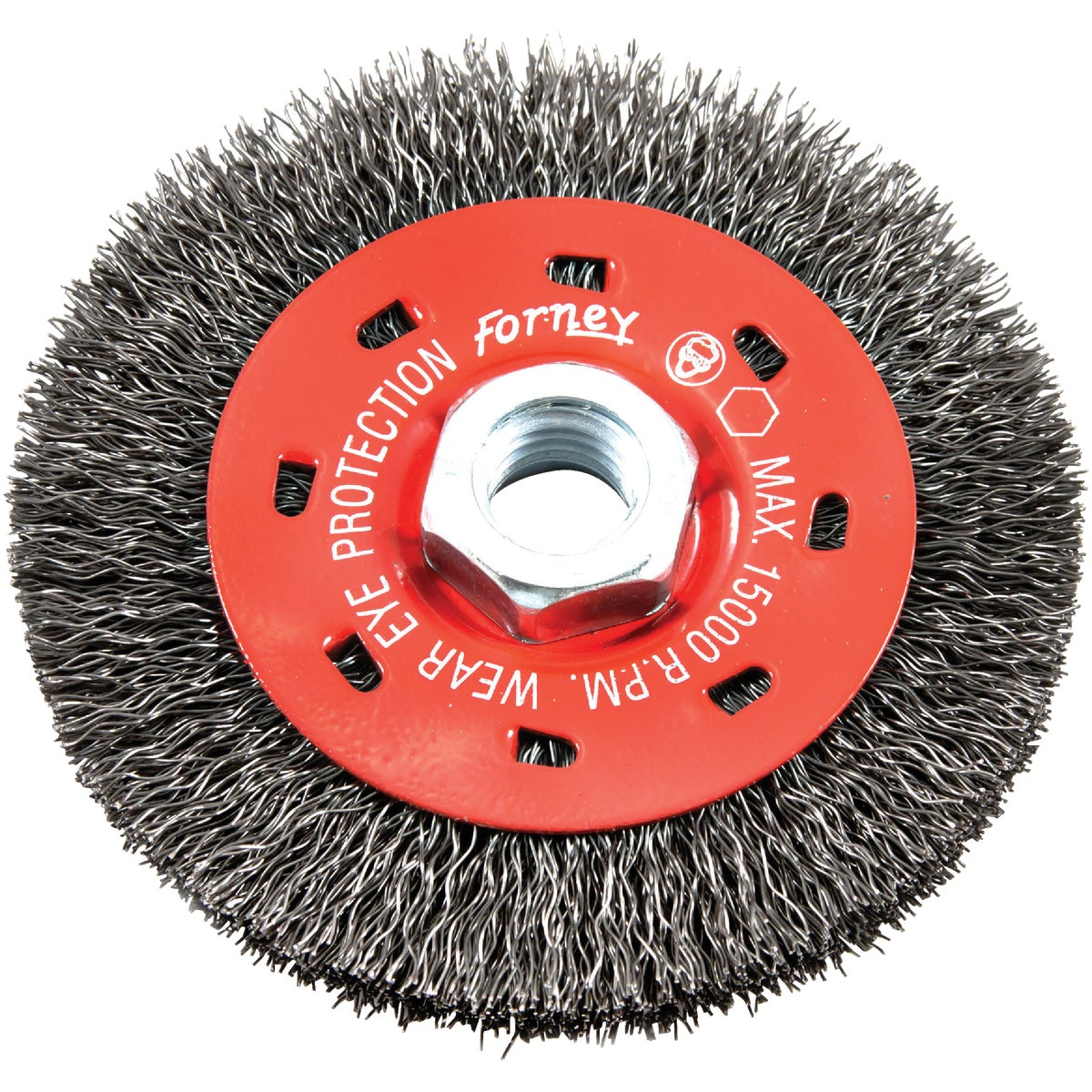 "4"" CRIMPED WIRE WHEEL - 72788 by Forney Industries"