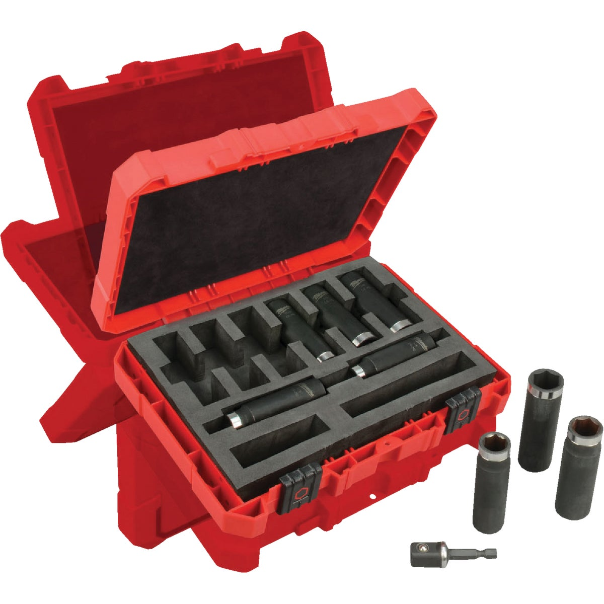 "9PC 1/2"" IMP SOCKET SET - 49-66-4484 by Milwaukee Accessory"
