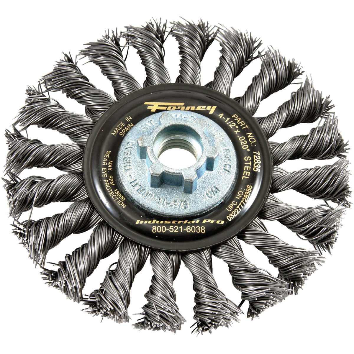 "4.5""TWST KNOT WIRE WHEEL"