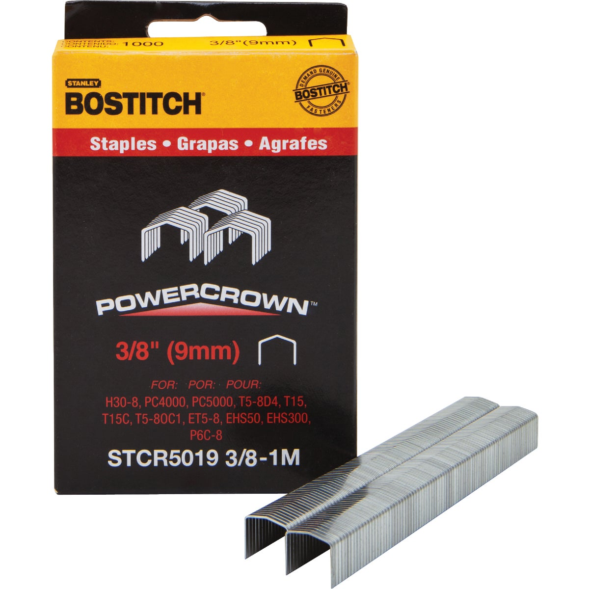 "3/8"" STAPLE - STCR50193/8-1M by Stanley Bostitch"