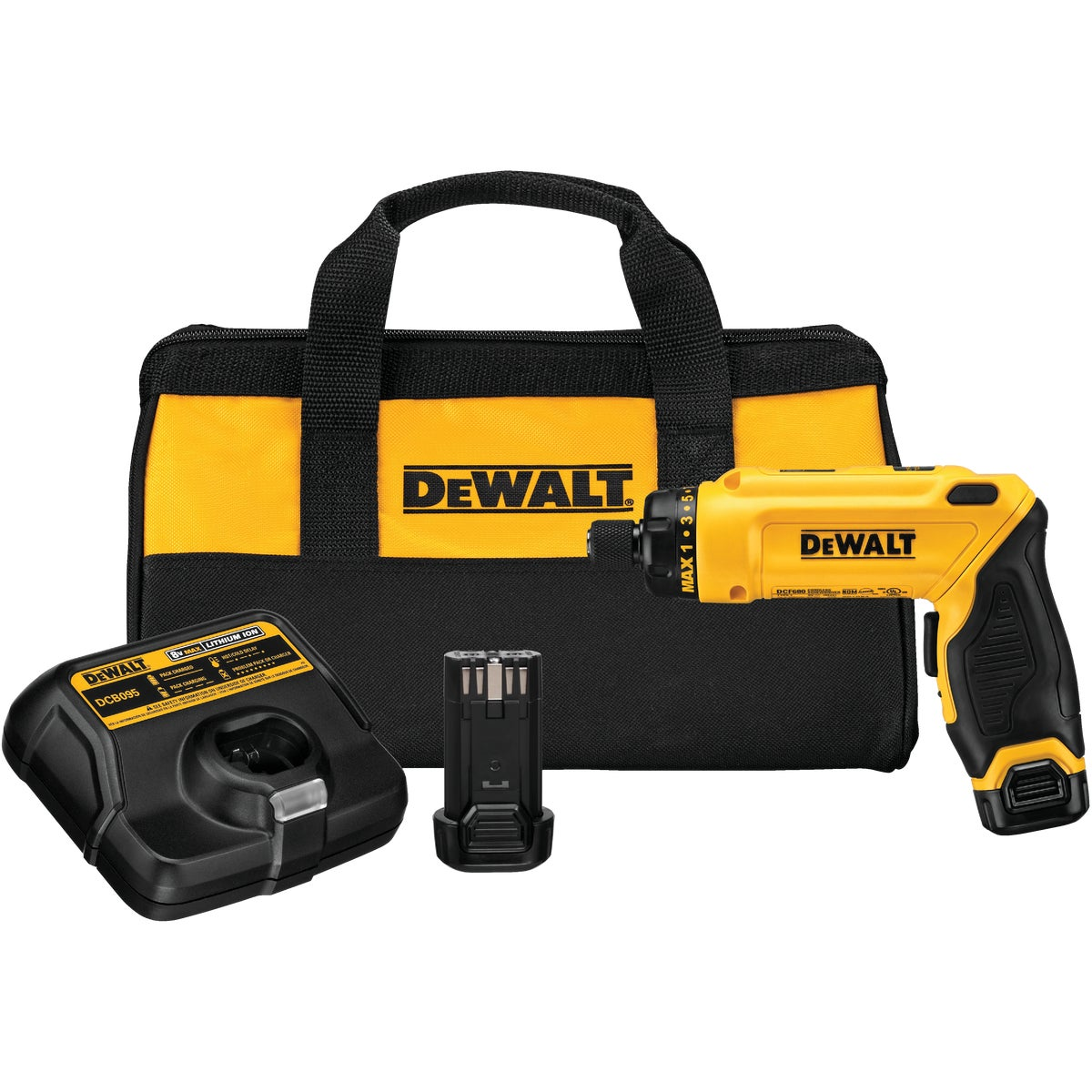2BAT GYROSC SCREWDRIVER - DCF680N2 by DeWalt