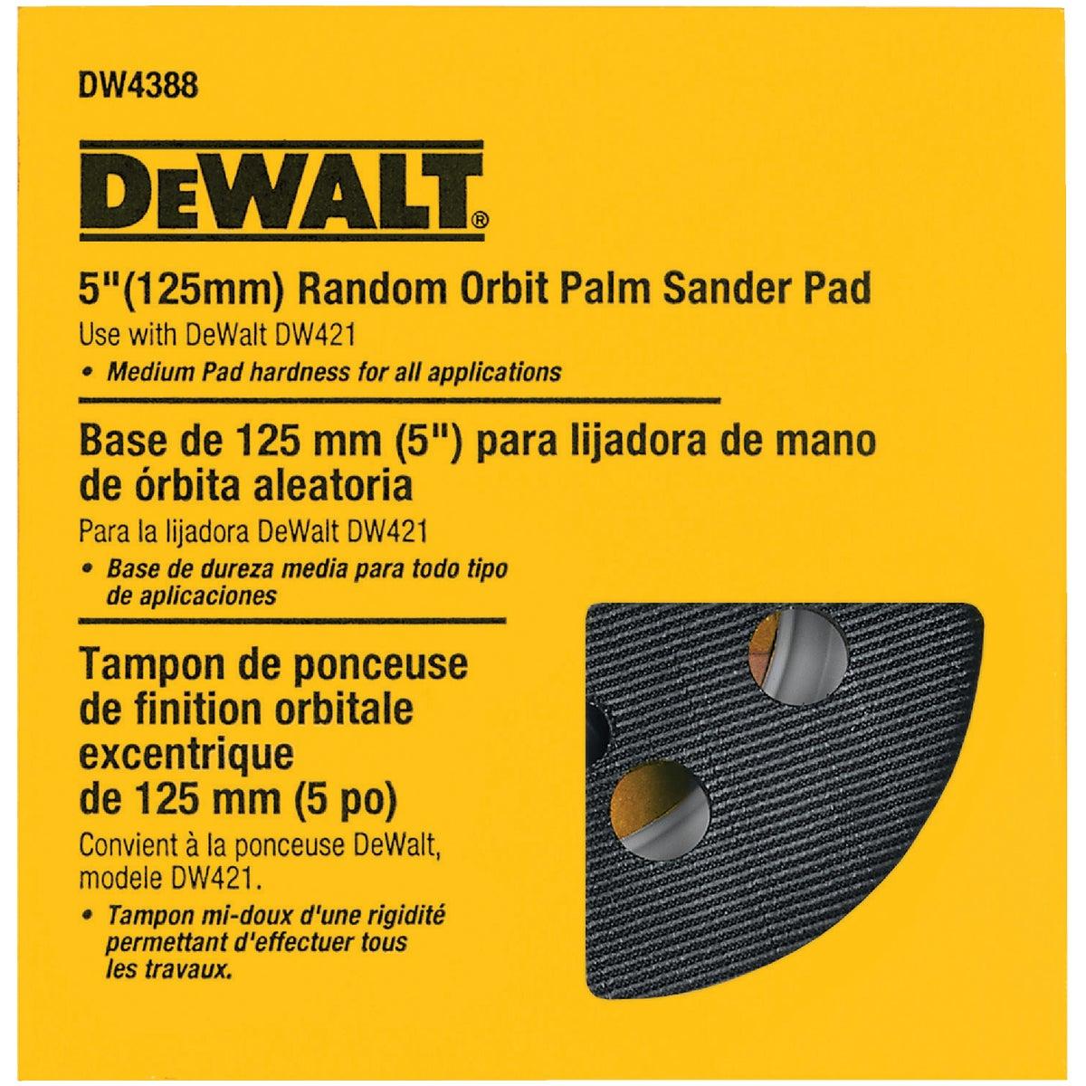 """5"""" MED 8-HOLE H & L PAD - DW4388 by DeWalt"""