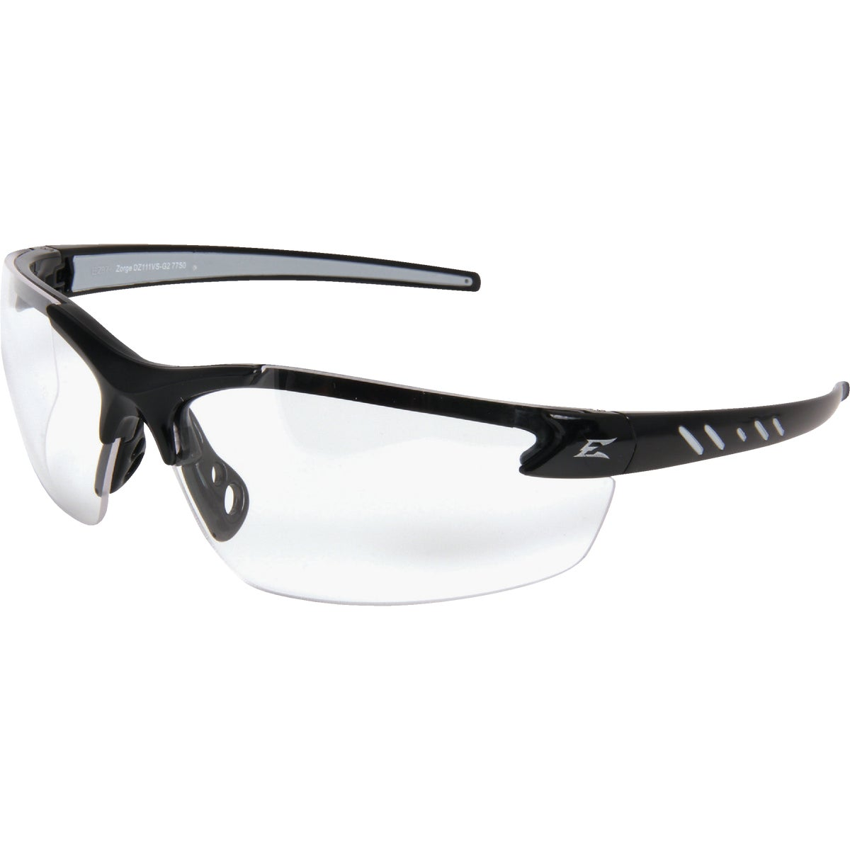 ZORGE BLACK/CLEAR LENS - DZ111 by Edge Eyewear