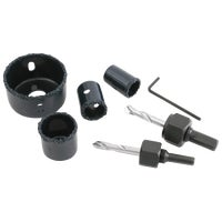 6Pc Ceramic Hole Saw Set