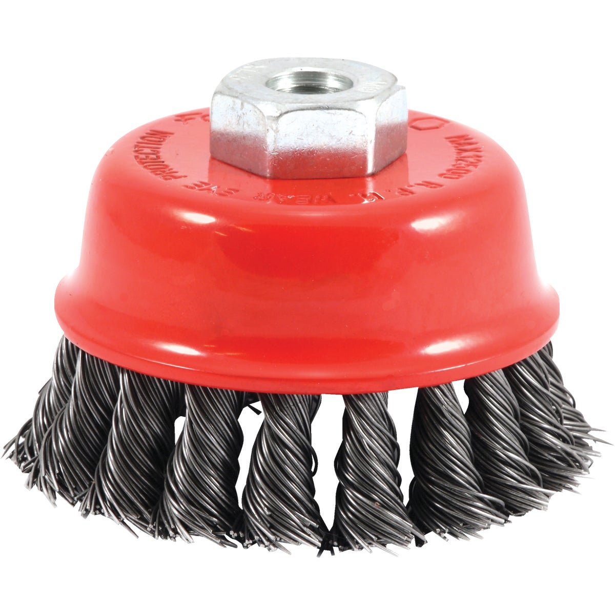 "2-3/4"" KNOTTED CUP BRUSH - 72782 by Forney Industries"
