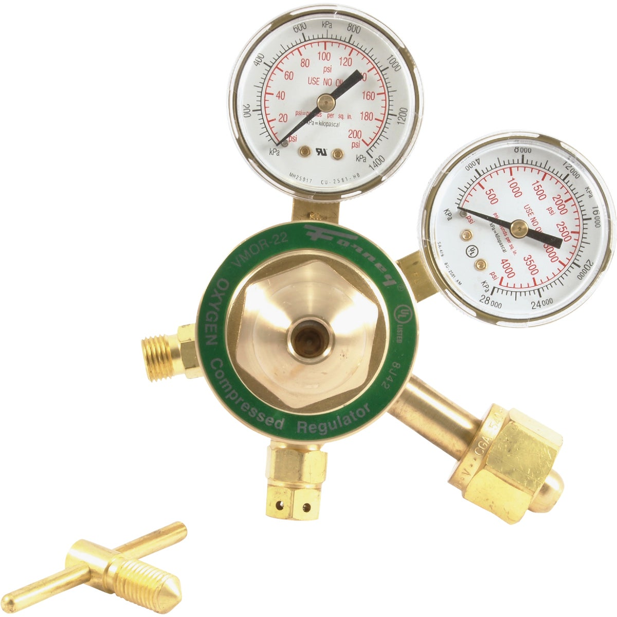MED OXYGEN REGULATOR - 87090 by Forney Industries