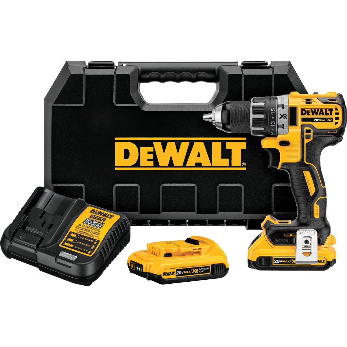 20V MAX BRUSHLESS DRILL - DCD790D2 by DeWalt
