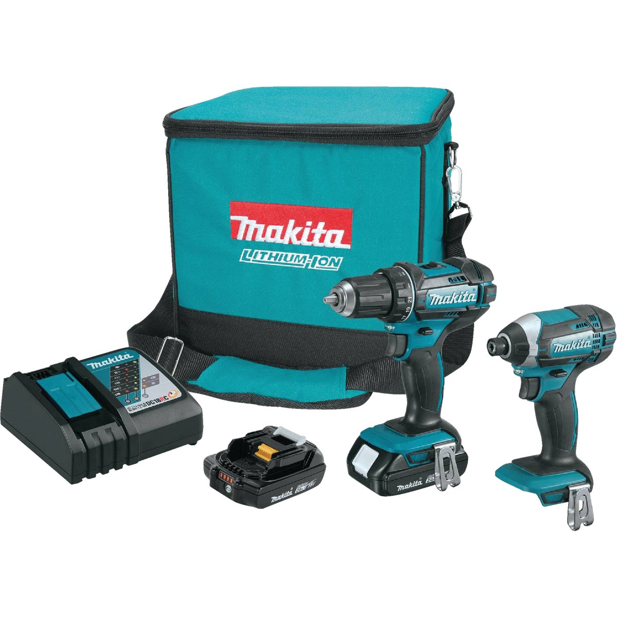 18V DRILL IMPACT KIT - LCT200W by Makita Usa Inc