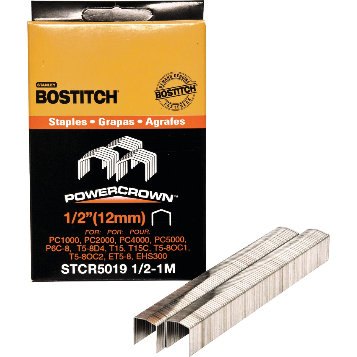 "1/2"" STAPLE - STCR50191/2-1M by Stanley Bostitch"