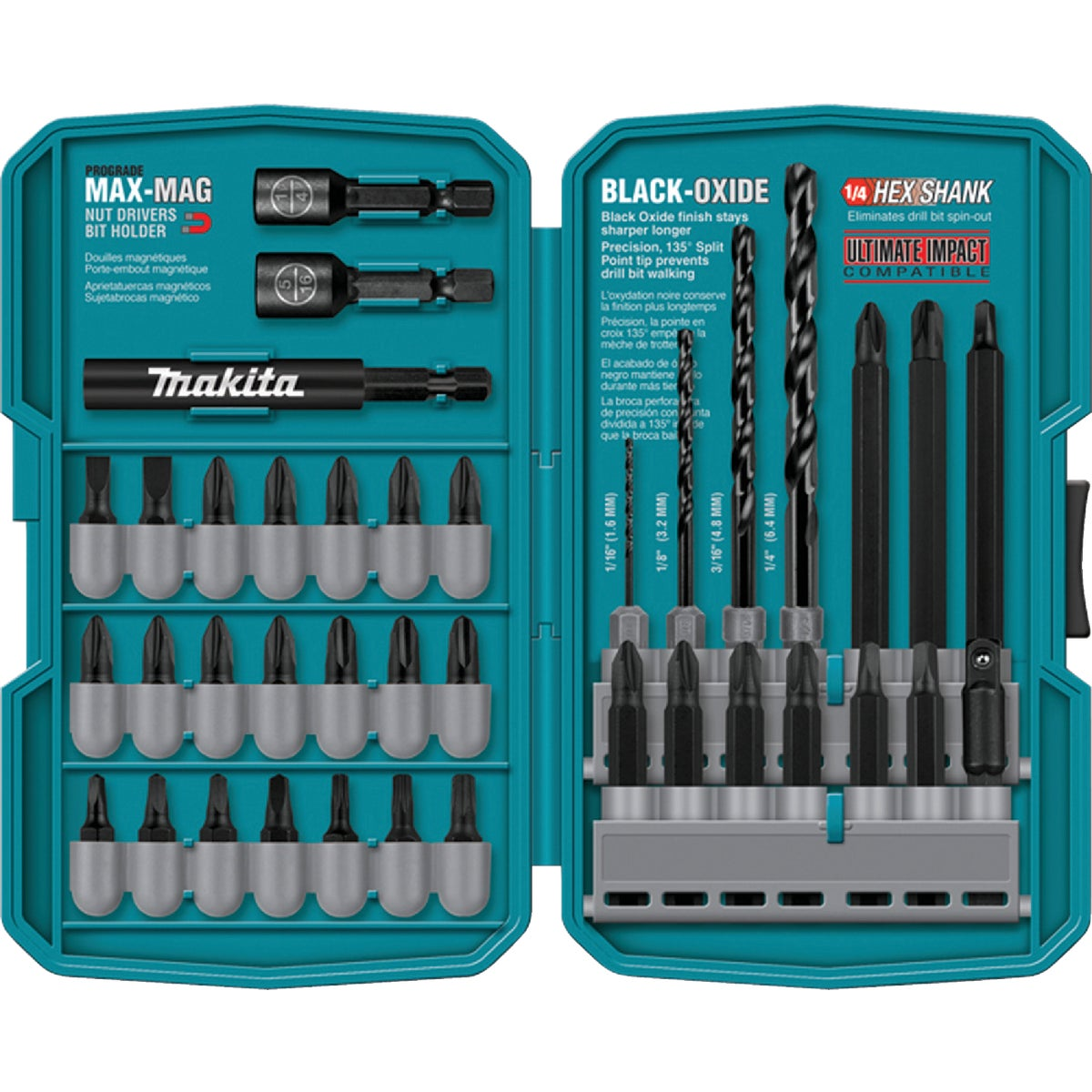 38-PIECE BIT SET - T-01373 by Makita Usa Accessory