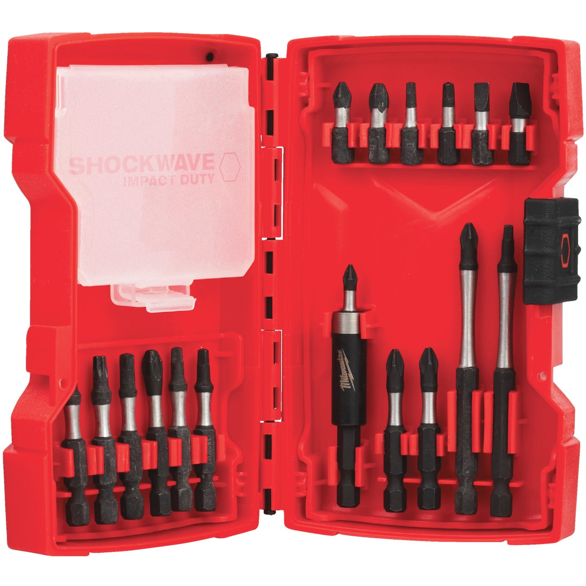 18PC IMPACT DRIVER SET - 48-32-4403 by Milwaukee Elec Tool