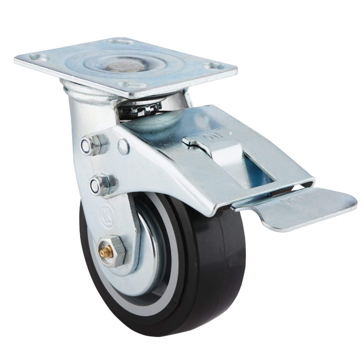 Channellock Toolbox Rigid Plate Caster