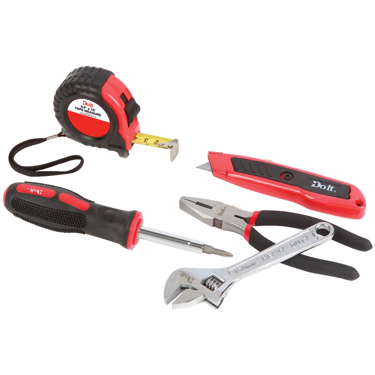 5PC HOME TOOL SET - 0346399 by Do it Best