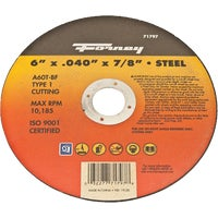 Forney Type 1 Cut-Off Wheel, 71797