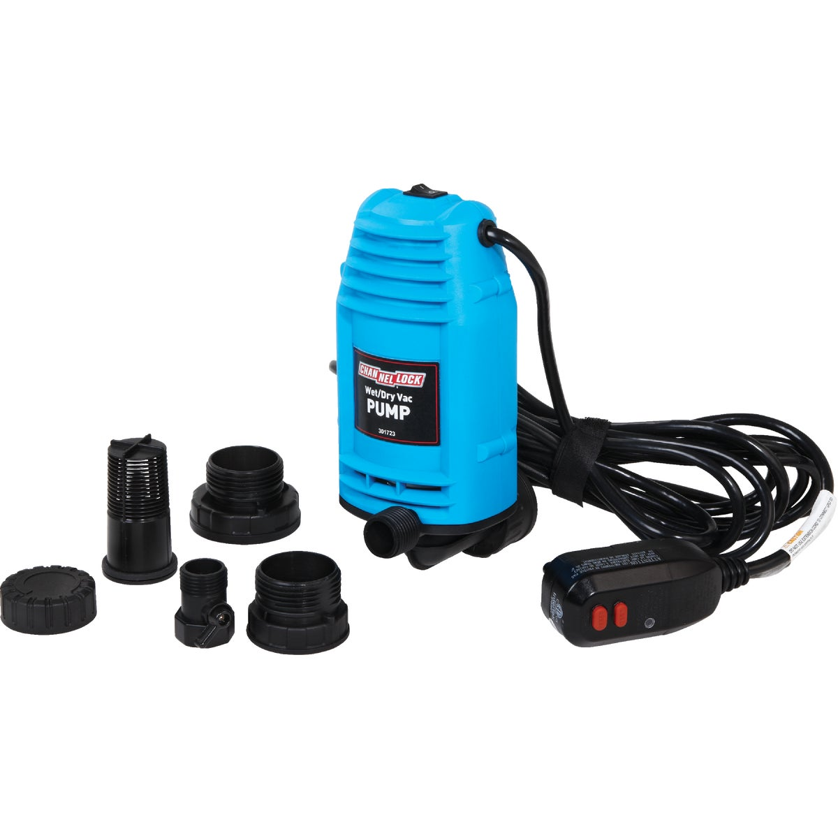 Channellock Wet/Dry Vacuum Pump, PE401