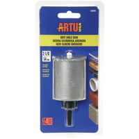 ARTU Tungsten Carbide Hole Saw w/Arbor and Pilot, 2840