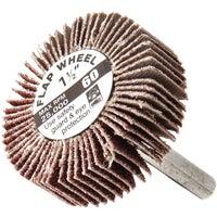 Forney Shank Mounted Flap Sanding Wheel, 60187