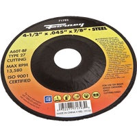 Forney Type 27 Cut-Off Wheel, 71793
