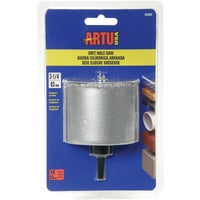 ARTU Tungsten Carbide Grit Hole Saw, 02860