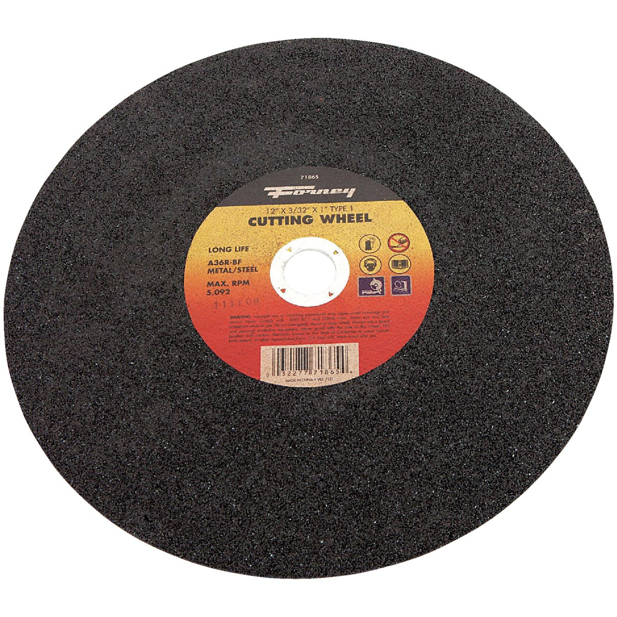 "12"" CUTTING WHEEL"