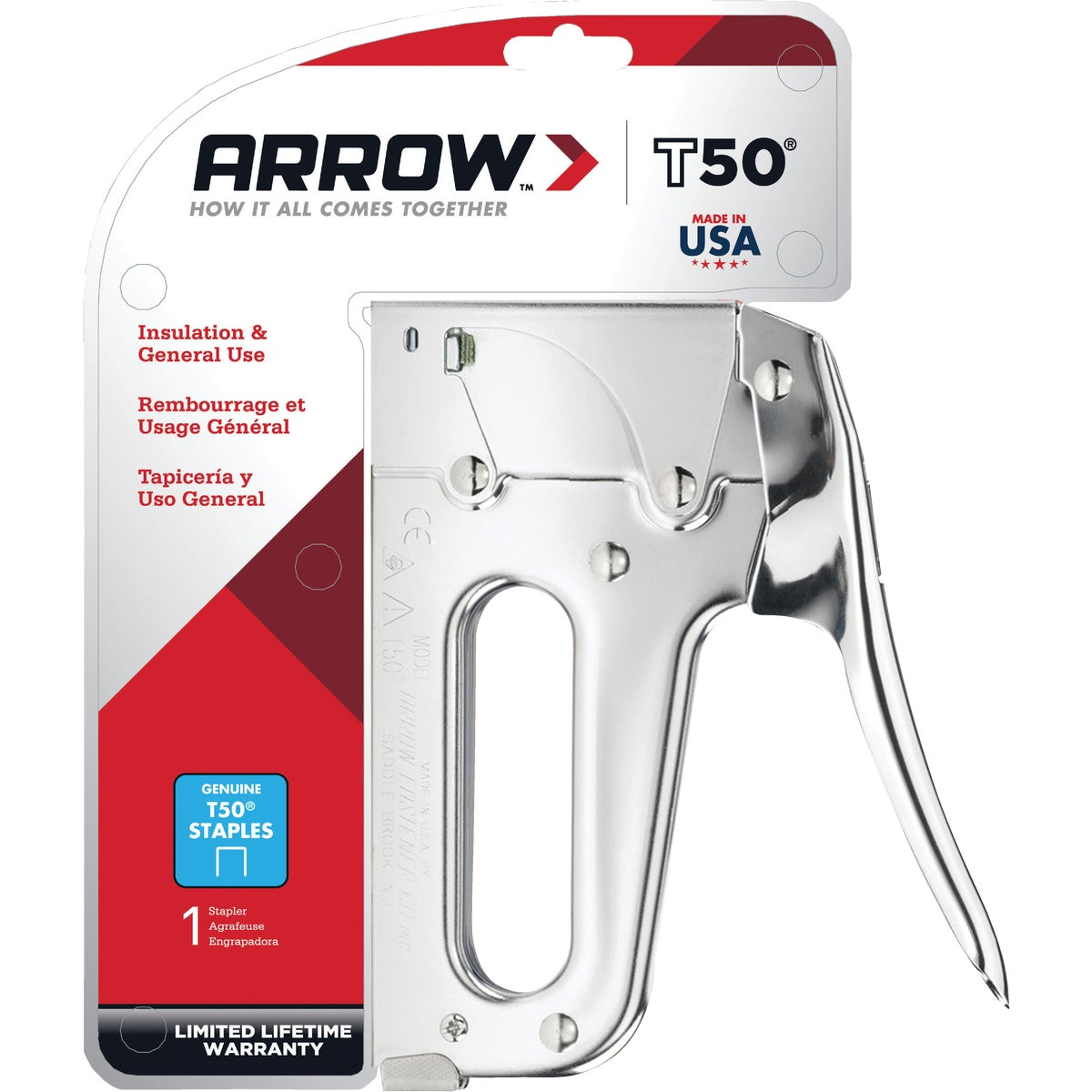 STAPLE GUN - T50 by Arrow Fastener Co