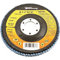 Forney Type 29 Blue Zirconia Angle Grinder Flap Disc, 71986