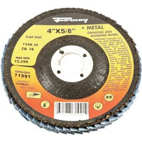Forney Type 29 Blue Zirconia Angle Grinder Flap Disc, 71991