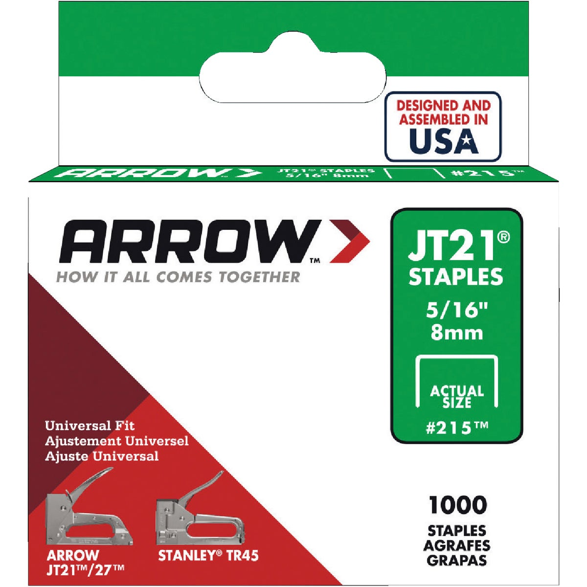 "5/16"" STAPLE - 215 by Arrow Fastener Co"