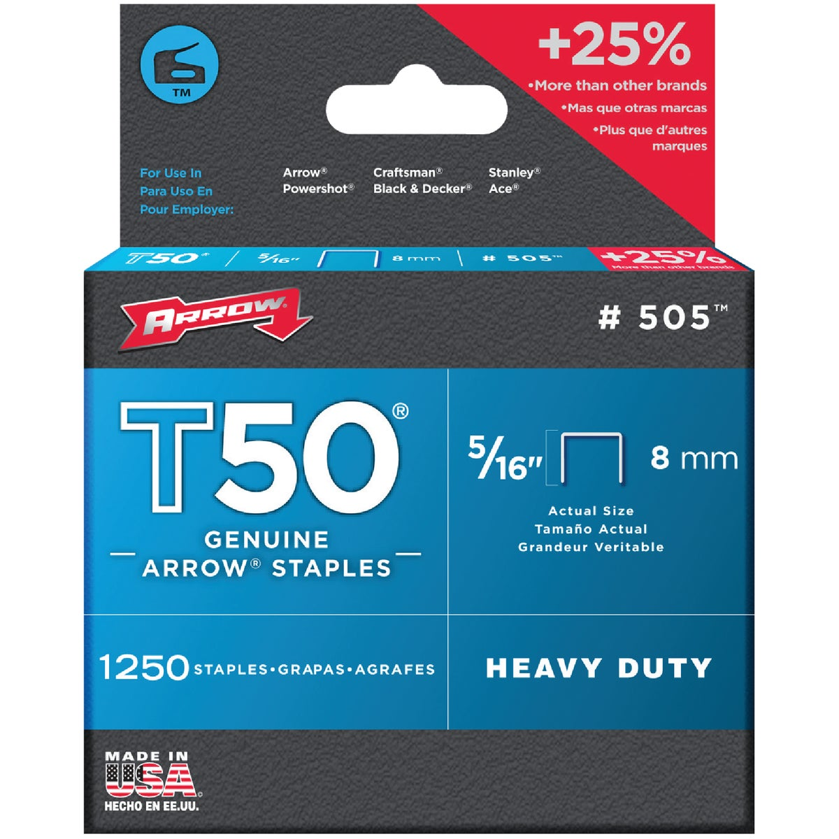 "5/16"" STAPLE - 50524 by Arrow Fastener Co"