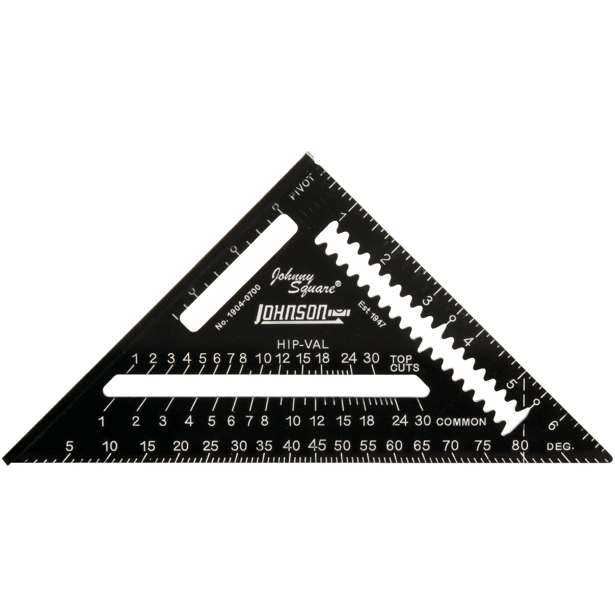 "7""ALM RAFTR ANGLE SQUARE - 1904-0700 by Johnson Level & Tool"