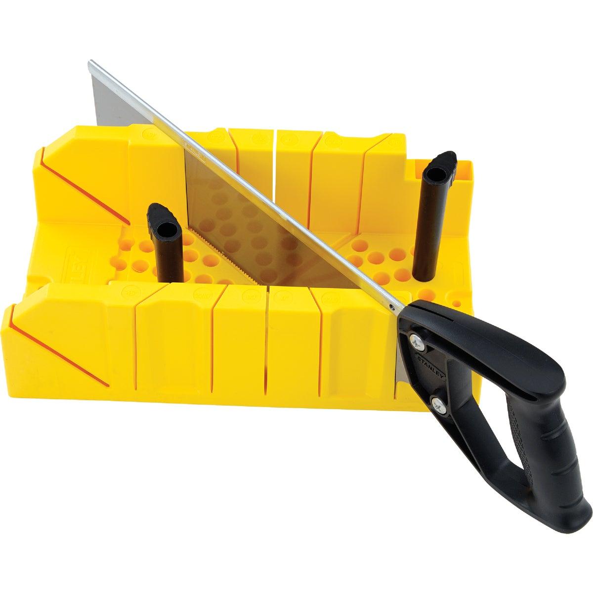 MITER BOX W/SAW