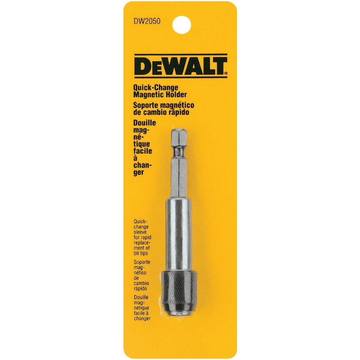 DeWalt Quick Change Magnetic Bit Holder, DW2050