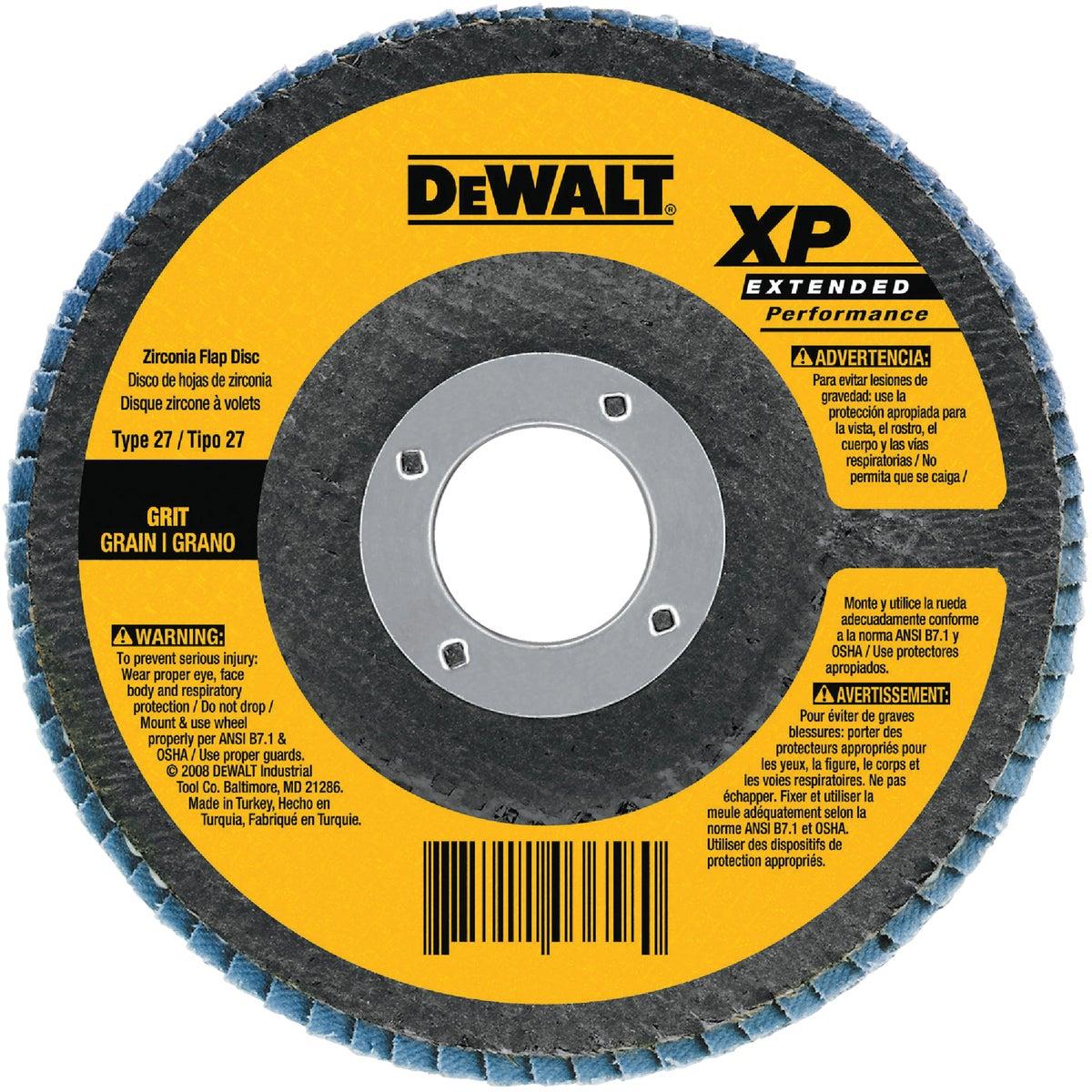 """4-1/2"""" 36G FLAP DISC - DW8311 by DeWalt"""