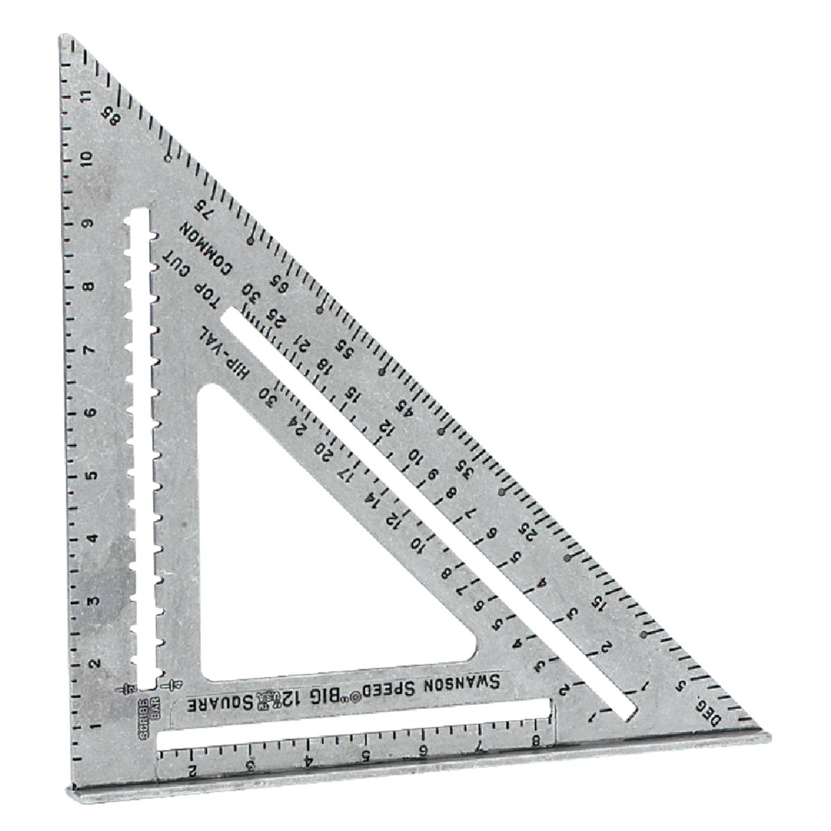 "12"" SPEED SQUARE - S0107 by Swanson Tool Co"