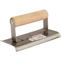 Marshalltown Trowel 6X2-3/4 CURVED END EDGER 16492