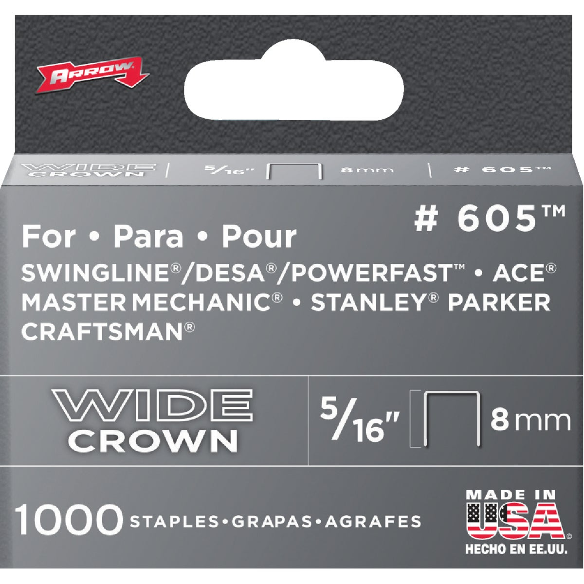 "5/16"" H/DUTY STAPLE - 60530 by Arrow Fastener Co"