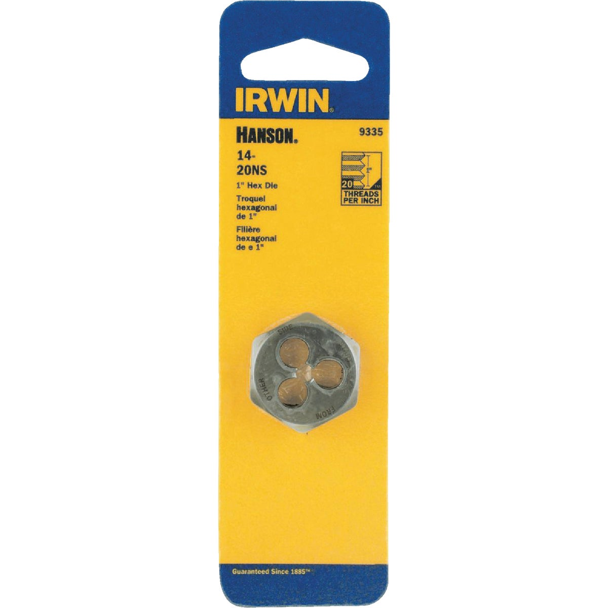 14X20 NS HEX DIE - 9335ZR by Irwin Industr Tool