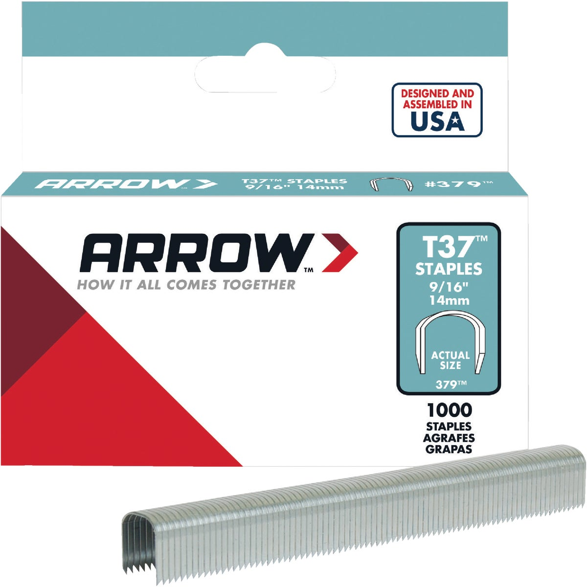 "9/16"" STAPLE - 379 by Arrow Fastener Co"