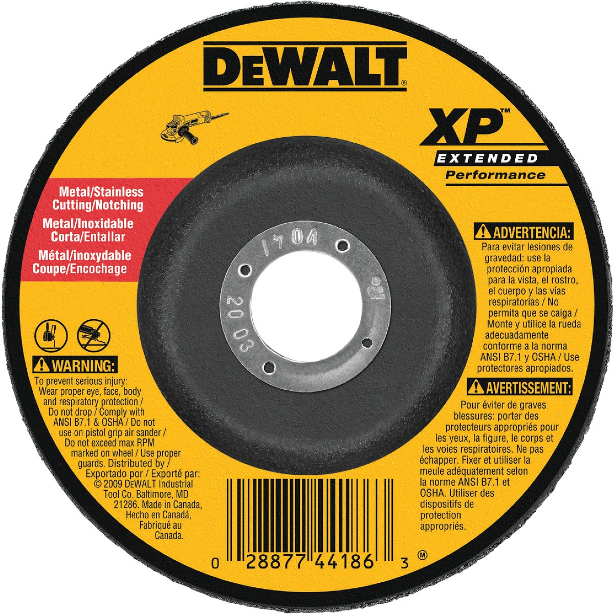"7"" GRINDING WHEEL - DW8427 by DeWalt"