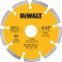 "Black & Decker/Dwlt : 4-1/2"" Diamond Blade (Pack of 10 )"