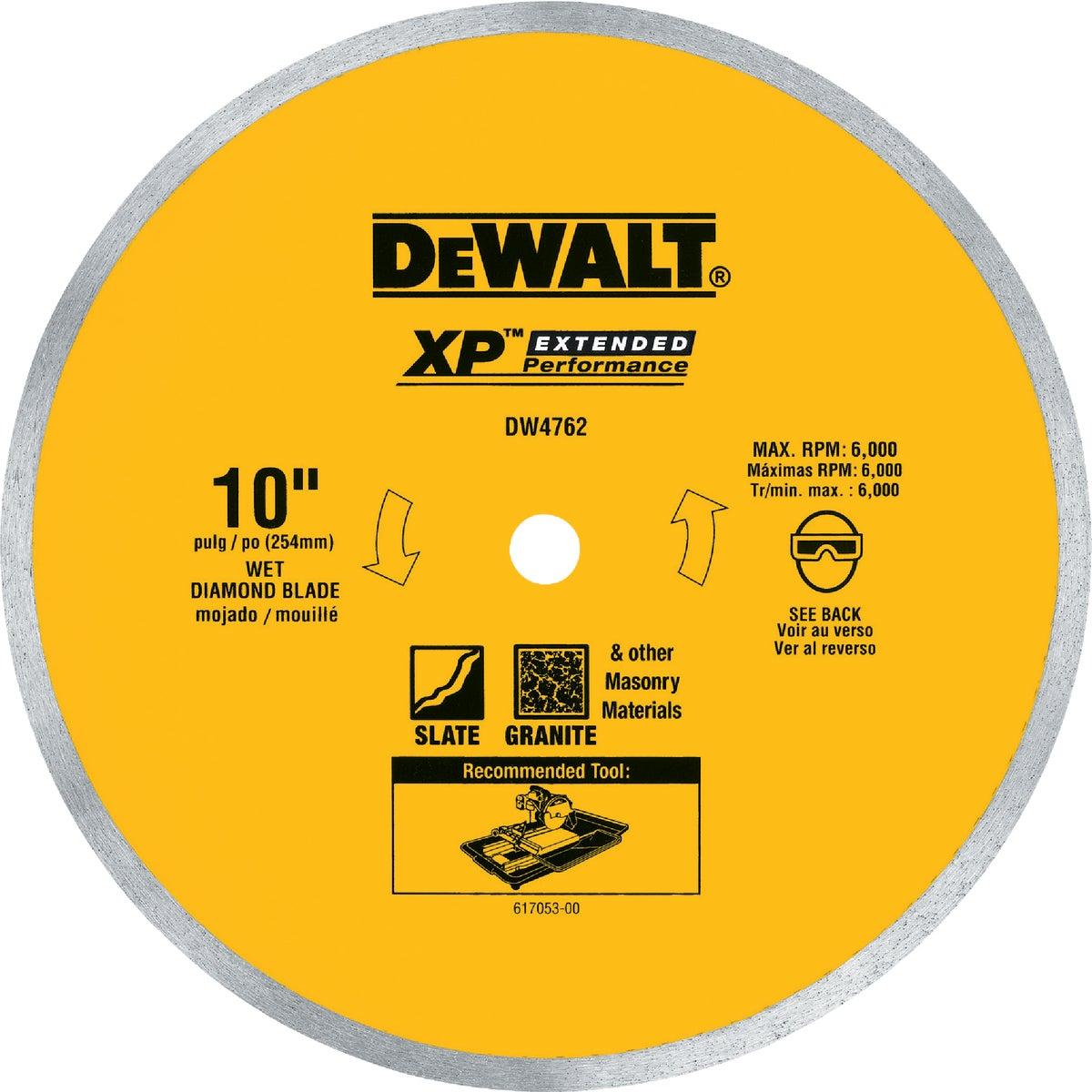 """10"""" PORCELAIN BLADE - DW4762 by DeWalt"""