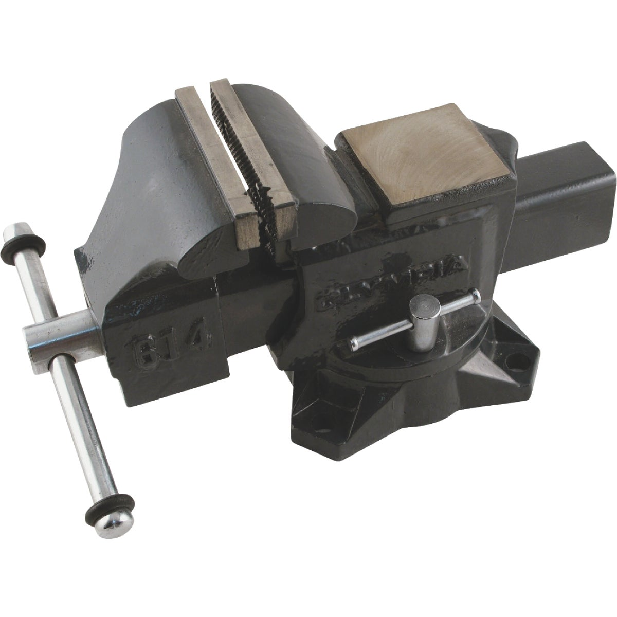 "4"" HD MECHANICS VISE - 38-614 by Olympia Tools"