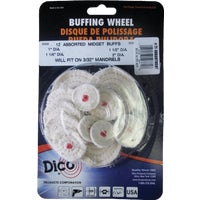 Dico Prod. Corp. MIDGET BUFFING WHEEL 52771
