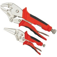 2Pc Locking Pliers Set