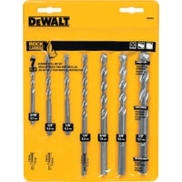Black & Decker/DWLT 7PC MASONRY DRILL BIT DW5207