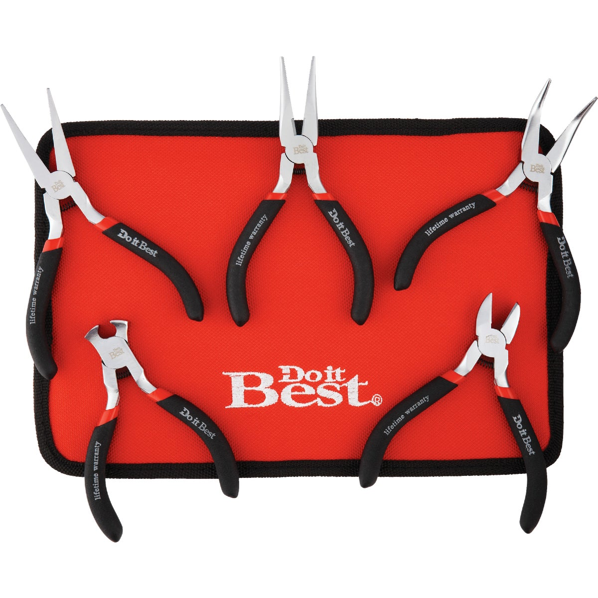 5PC HOBBY PLIERS SET - 306428 by Do it Best