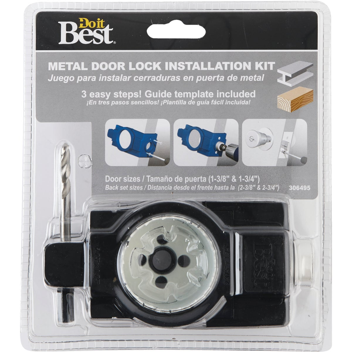 Bi-Metal Door Lock Kit