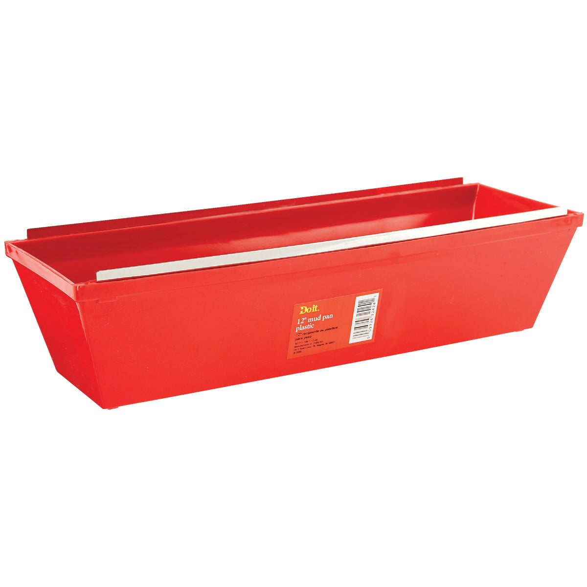 "12"" PLASTIC MUD PAN"