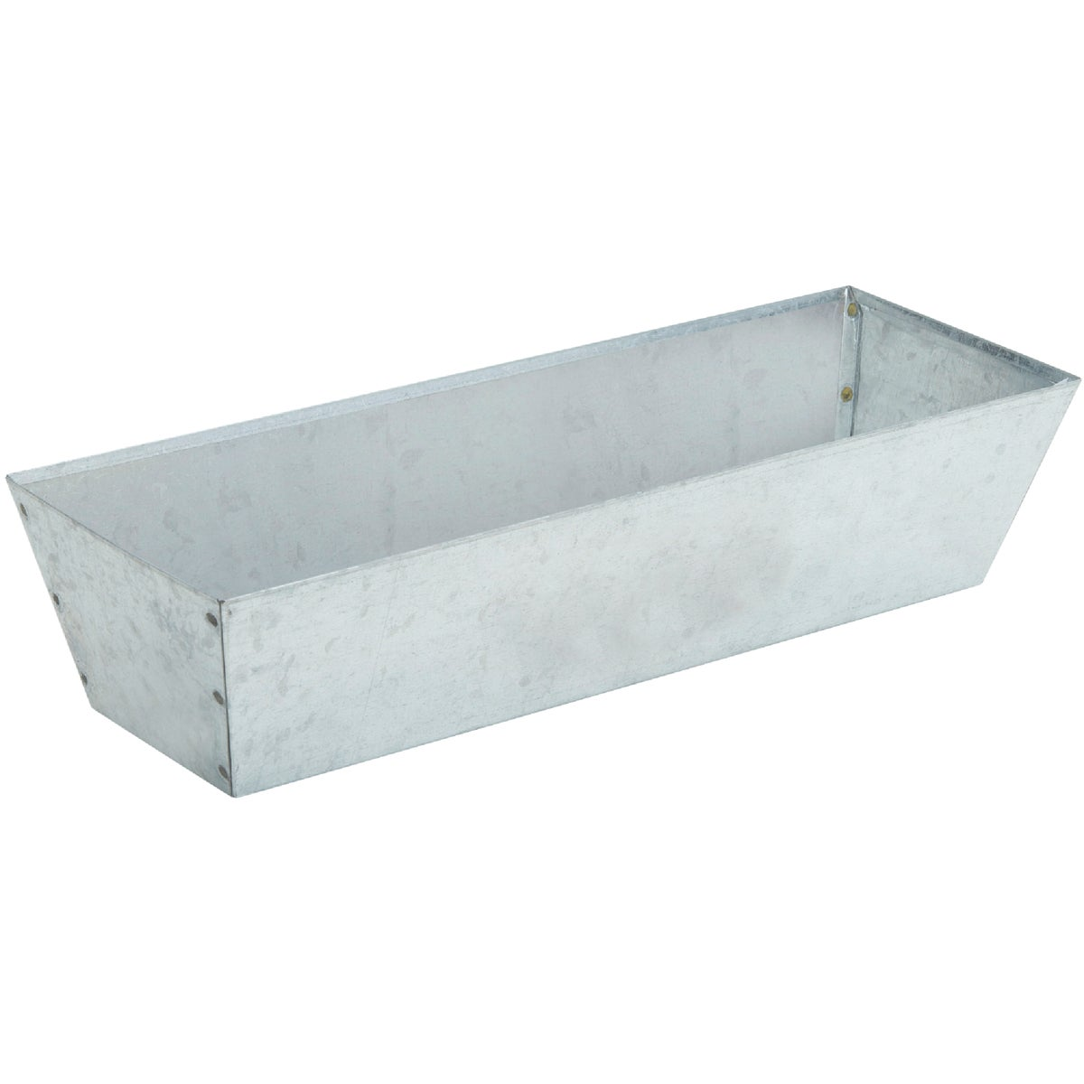 "12"" GALVANIZED MUD PAN"